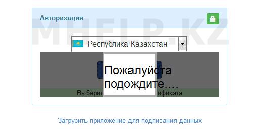 Исправление проблемы Пожалуйста подождите, при входе на портал или подписи тендера на Госзакупки РК